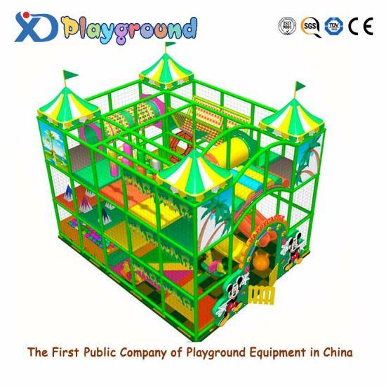 Hot Selling Children's Favorite Soft Indoor Playground Equipment