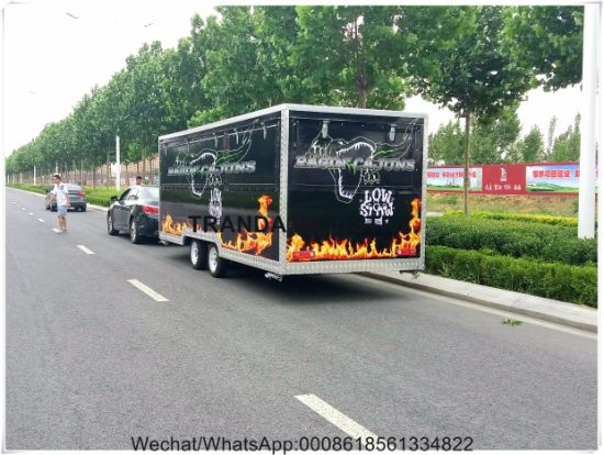 Ice Cream Catering Kitchen Trolley Food Truck pictures & photos