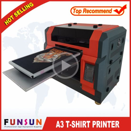 586ede4a3 China High Quality Funsunjet A3 DTG Printers for Sale - China T ...