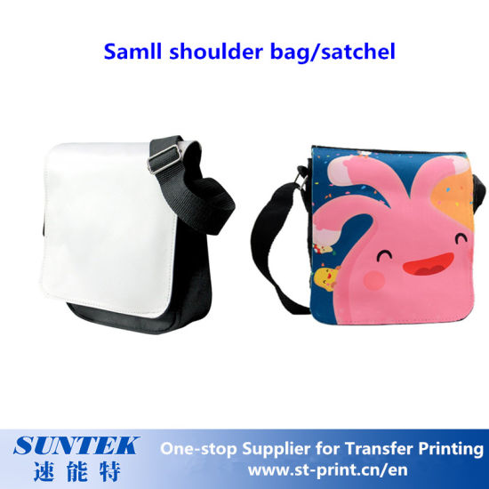 Canvas Blank Sublimation Shoulder Bag/Satchel pictures & photos