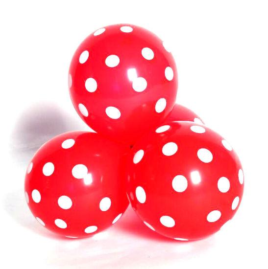 China 12 polka dot latex balloons wedding decoration birthday party 12 polka dot latex balloons wedding decoration birthday party supplies candy color printed round dot inflatable balloon junglespirit Images