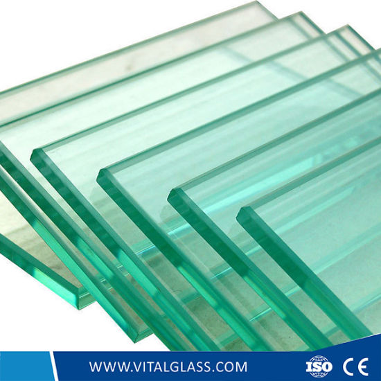 3- 12mm Clear Tempered/Toughened Glass for Building Glass pictures & photos