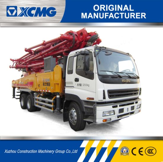 China XCMG Official Manufacturer HB48K 48m Earthmoving Equipment for