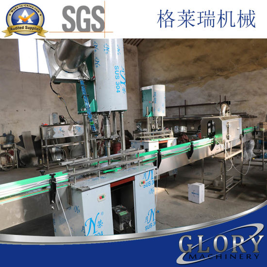 Small Bottle Filling Machine for Water and Juice pictures & photos