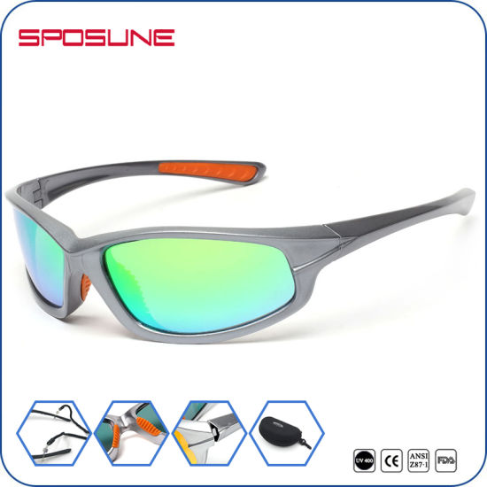 a444c15234 Private Label Men Mirror Sun Glasses Factory Wholesale Polarized Eyewear  Bike Driving Sport Outdoor Interchangeable Lens