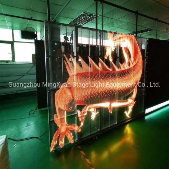 Low Consumption P4 P4.81 Ventilation Outdoor Full Color Hollow LED Display