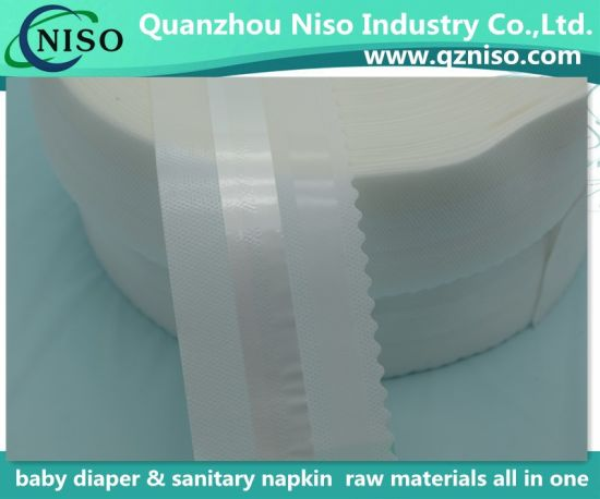 Soft and Comfortable Velcro Side Tapes for Baby Diaper/Adult Diaper (LSZYT8540)