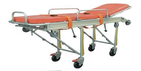 Folded Aluminum Alloy Ambulance Stretcher Hospital Furniture (SLV-3B2) pictures & photos