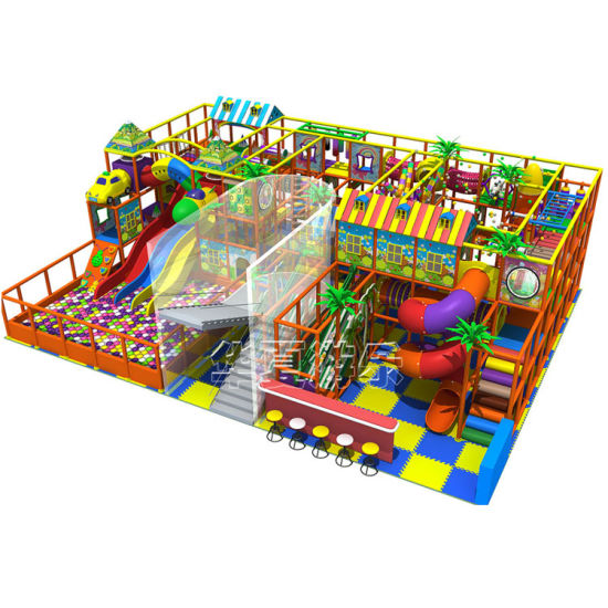 Kids Funny Soft Play Park Toddler Plastic Houses Indoor Playground Area pictures & photos