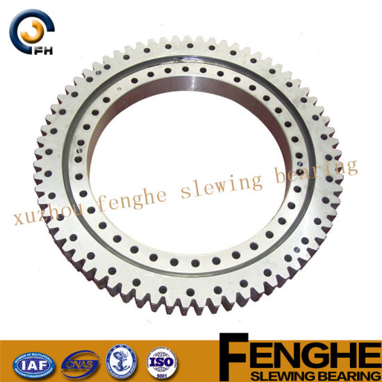 Single Row Ball Internal Gear Slewing Ring Bearing for Excavator pictures & photos