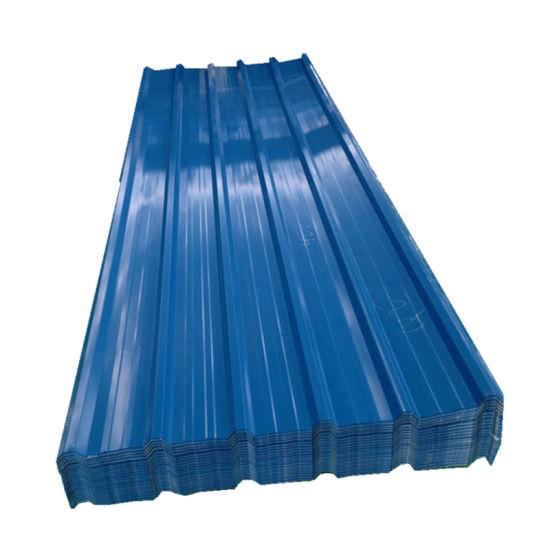 JIS ASTM SGCC Sgcd Colorful Corrugated Metal Roof Sheet