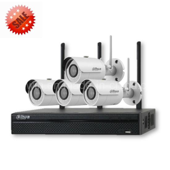 Promotion Dahua IP Camera Security NVR Kit Home 4CH 1080P Wireless WiFi CCTV Surveillance System