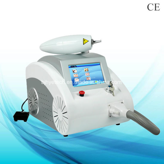 Professional 2000 Mj Q Switched ND YAG Laser Tattoo Removal 1064nm/532nm/1320nm