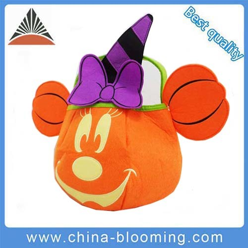 Halloween Gifts Bag Candy Pumpkin Treat Kids Promotion Felt Bag pictures & photos