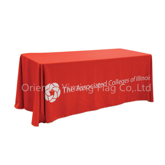 Custom High Quality Printed Table Cloth for Display Table Cover Cloth Tablecloth pictures & photos