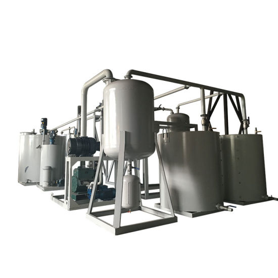 Used Engine Oil Recycling Plant Machine Made by Zhongneng