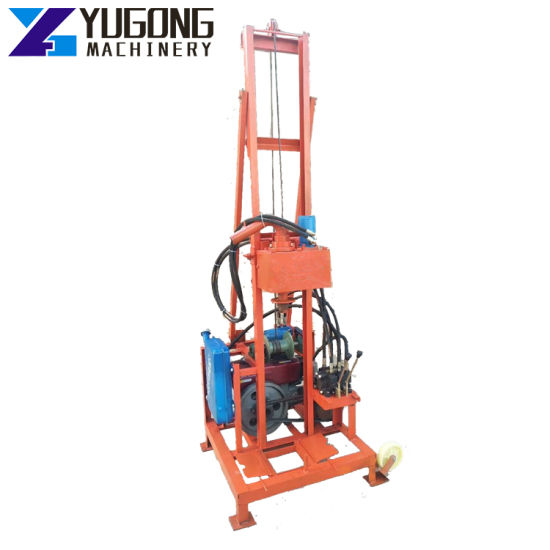 Auger Borehole Water Well Core Oil Drilling Machinery Rig Machine