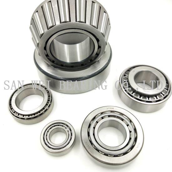 Metric/Inch Bearing Manufacture Taper/Tapered Roller Bearing High Precision Black Corner Large Stock