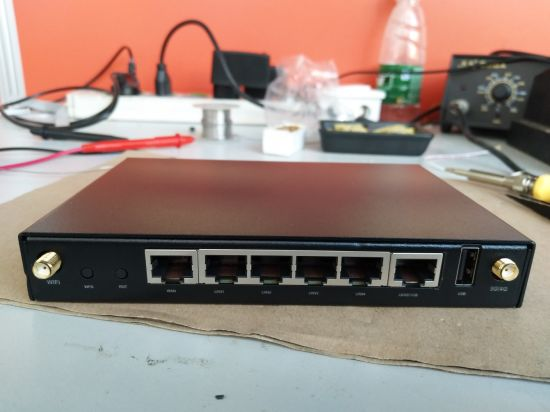 5 LAN Ports One Wan Port Industry 4G Router with SIM Card pictures & photos