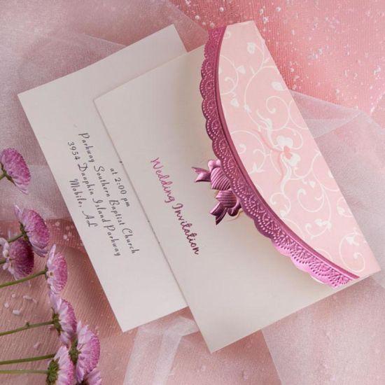 China Europe Elegant Design Royal Wedding Invitation Card China