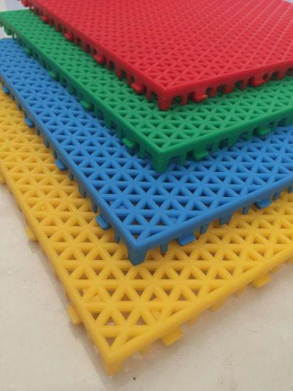 Badminton Court Mat Sports Floor, Outdoor Flooring, Rubber Flooring Tile Badminton Sport Gerflor Taraflex Sports Flooring