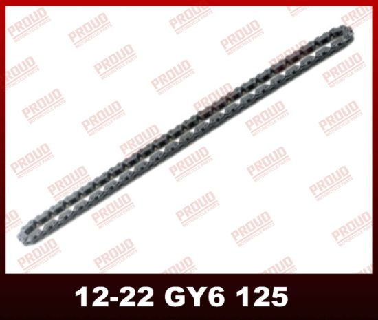 China Gy6-125 Timing Chain Motorcycle Timing Chain