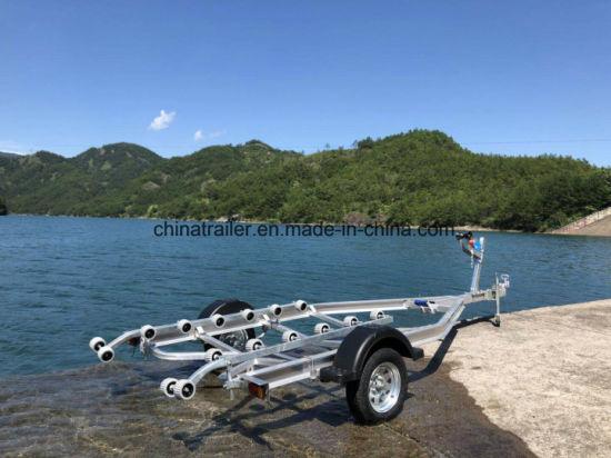 Hot Sales! 5 Meter Aluminum Singel Axle Boat Trailer