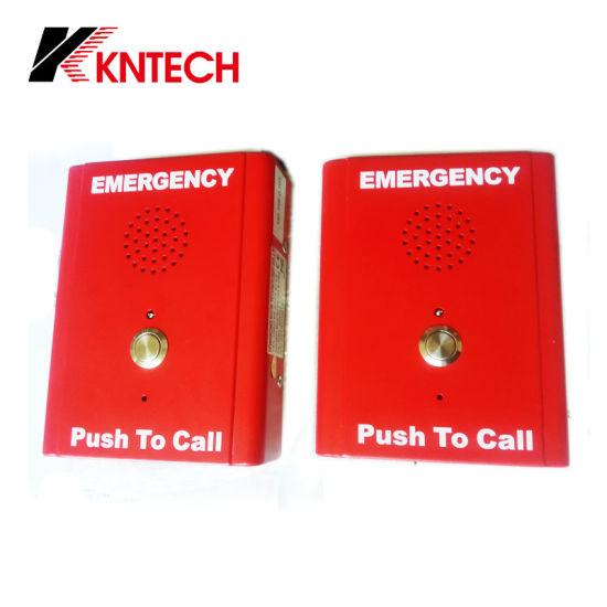 China Hot Sell Knzd-13 Push Button Intercom Phone Emergency