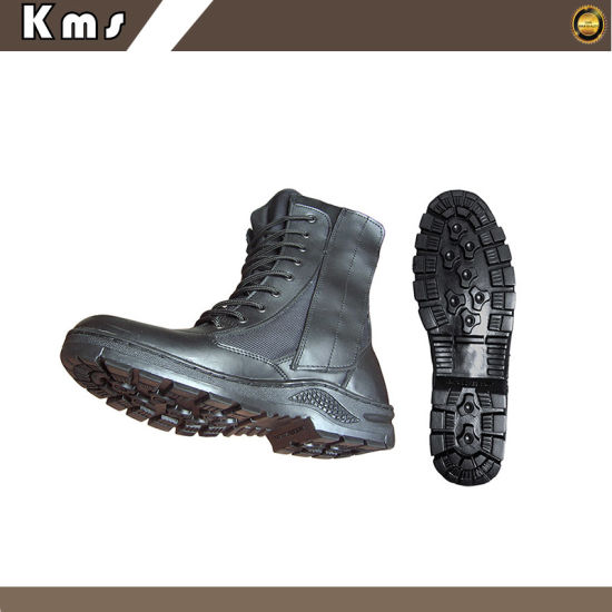 Men Military Outdoor Fashion Safety Leather Shoes