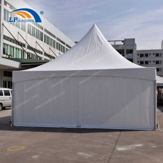 Aluminum Frame Hip End Marquee Tent with Sidewalls for Rental Business
