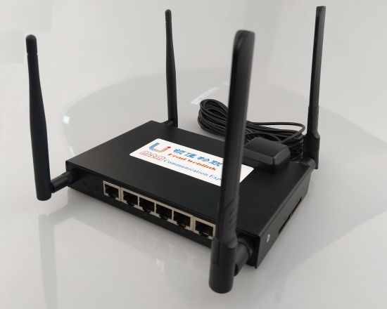5 LAN Ports One Wan Port Industry 4G Router with SIM Card