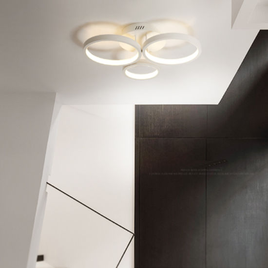 China Popular Modern Flush Mount Decorative Led Ceiling Lamp