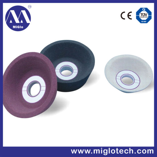 Customized High Quality Ceramic Abrasives Grinding Single Cup Type Grinding Whee L (GW-100139) pictures & photos