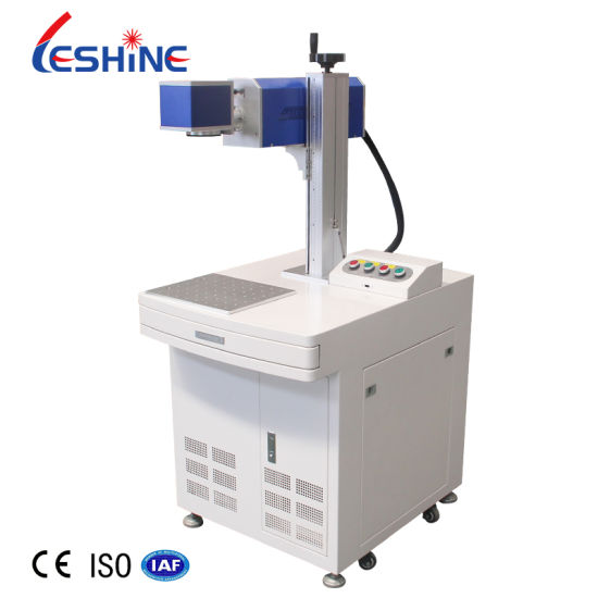 RF Metal Tube 30W 55W 100W CO2 Laser Marking Machine for Marking Jeans and Leather Materials