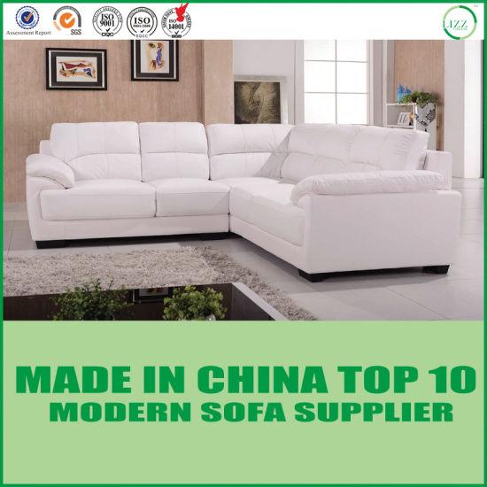 Modern Italian Leather Furniture Corner Sofa - China Home ...