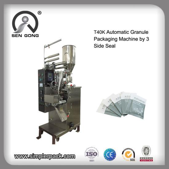 Wholesale T40K Automatic Granule Filling Packaging Machine