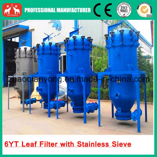 2016 Professional Manufacture Crude Edible Oil Leaf Filter Press Machine pictures & photos