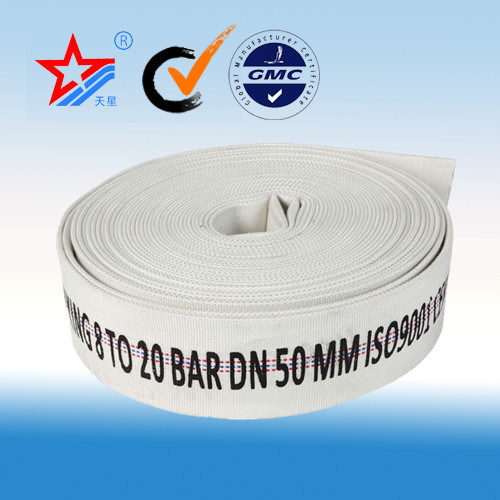 PVC Mixed Rubber Fire Hose, Canvas Fire Hose, Fire Fighting Hose pictures & photos