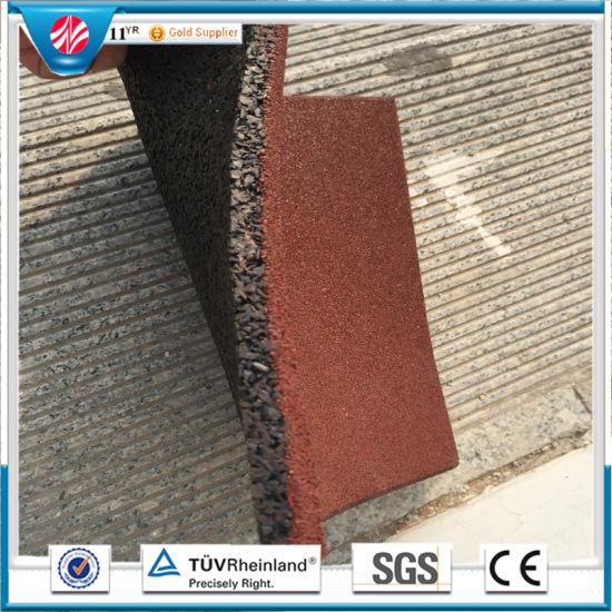 1c0cf3a734a4 Gym Flooring Mat Rubber Factory Direct Indoor Rubber Tile Rubber Floor Tile  pictures & photos