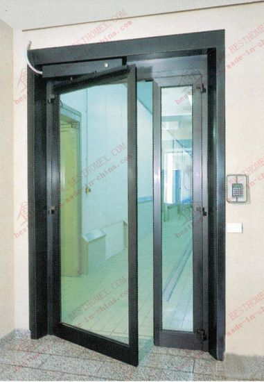 China Aluminium Automatic Entry Door Da Ac04 China Door