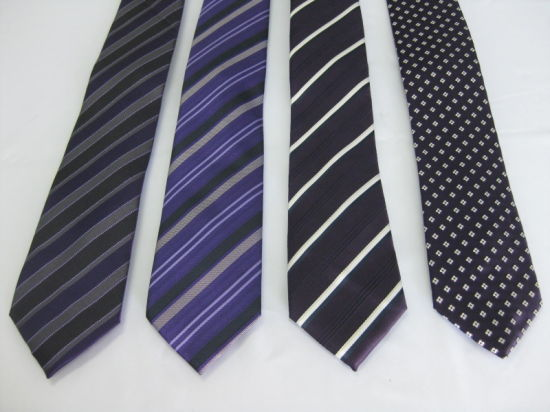 High Quality Men′s Fashion Woven Poly Ties (9184) pictures & photos