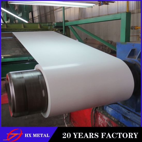PPGI 0.17-1.5mm Thin Thickness/Ralstandard Color Coated/Cold Rolled Steel Coil for Roofing Sheet