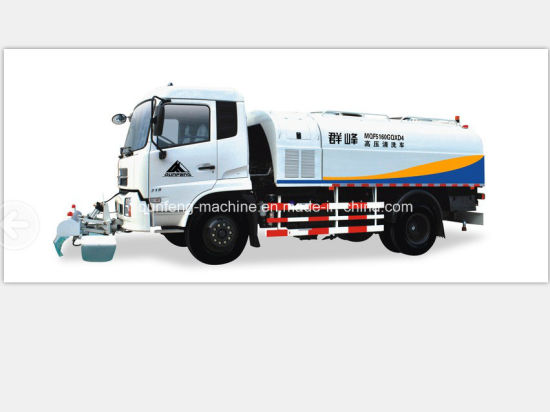 China Flushing Truck with High Pressure Cleaning Truck - China