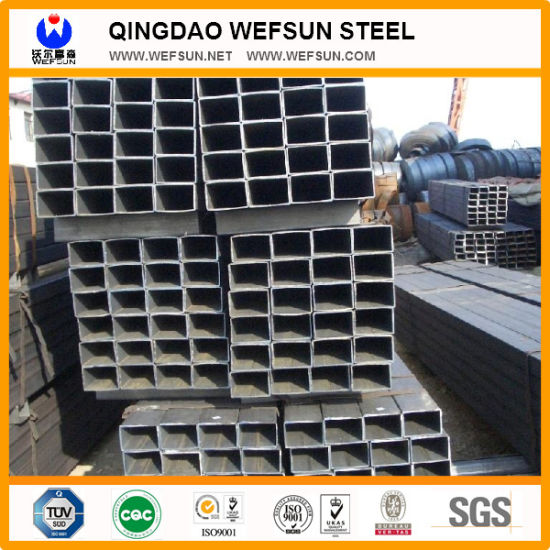 Ss400 Q235 Black Welded Rectangular Pipe From China pictures & photos