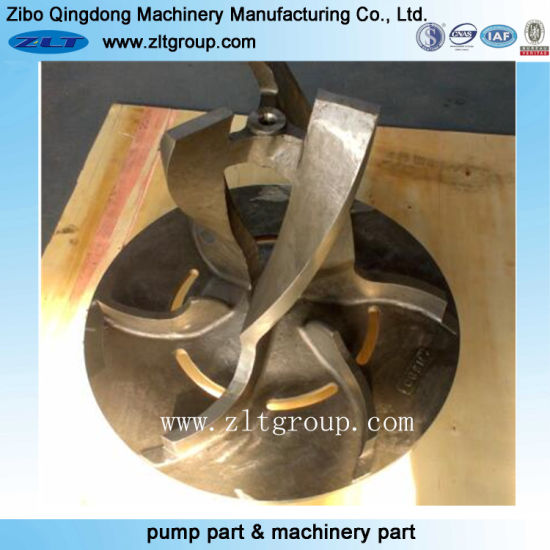 Investment Casting Stainless Steel Pump Impeller