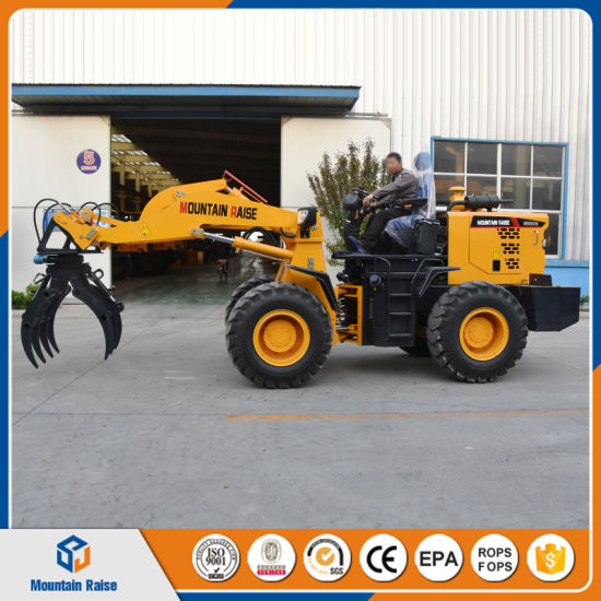 New Design Mini Loading Machine Zl18 Wheel Front End Loader pictures & photos