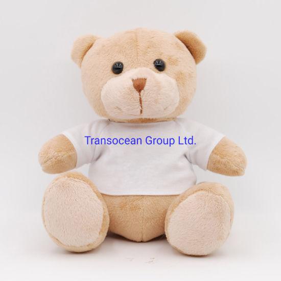 Plush Soft Teddy Bear with T-Shirt