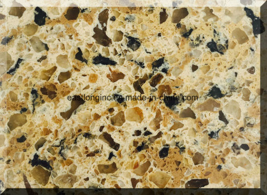 Artificial Stone Board Quartz Surface for Building Material/ Kitchen Counterop/ Home Decoration pictures & photos