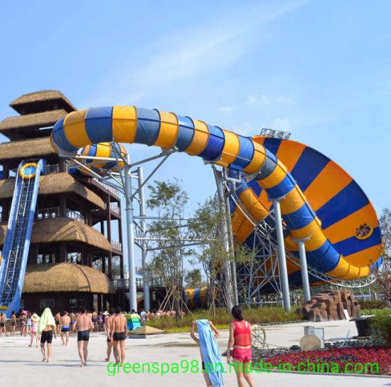 Big Trumpet Crazy Water Slide for Water Amusement Park (WS-005)
