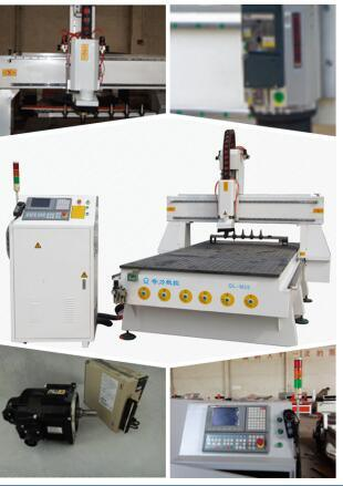 Atc Woodworking 6 PCS Knives Linear Auto Tool Changer CNC Router Machine pictures & photos